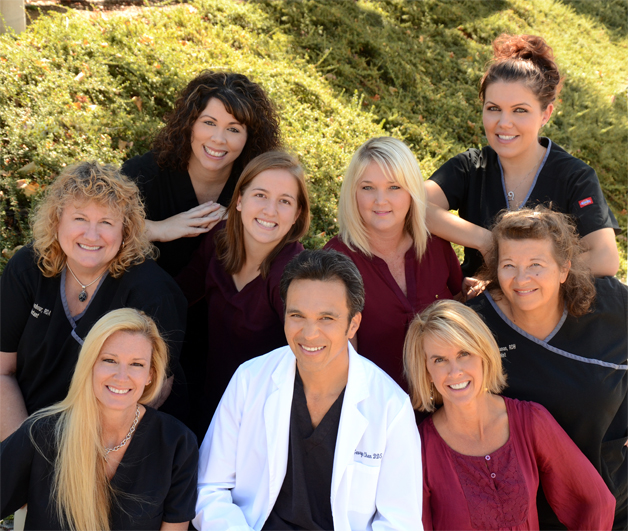 George Chen DDS and staff  photo by Dante Fontana  Style Media Group