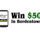 Win 50 Bucks in Bordentown - Oct 26 2014 0210PM