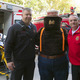 Lt Chris Mach Smokey the Bear and Chief Steven Gentile at the annual Open House