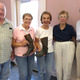 Shown at the recent Bellingham History presentation L-R Bill Eltzroth  Pauline Gaudini Mary Gregoire Diana Crooks  and speaker Marcia Crooks
