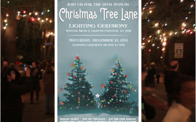 Altadena Point Archives Christmas Tree Lane Lighting Ceremony Dec