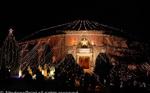 Balian Mansion lights up the night | Altadena Point