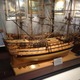 The Maritime Museum featuring nine ships built entirely from dental tools