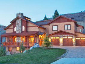 luxury ski area townhome Steamboat Springs Colorado