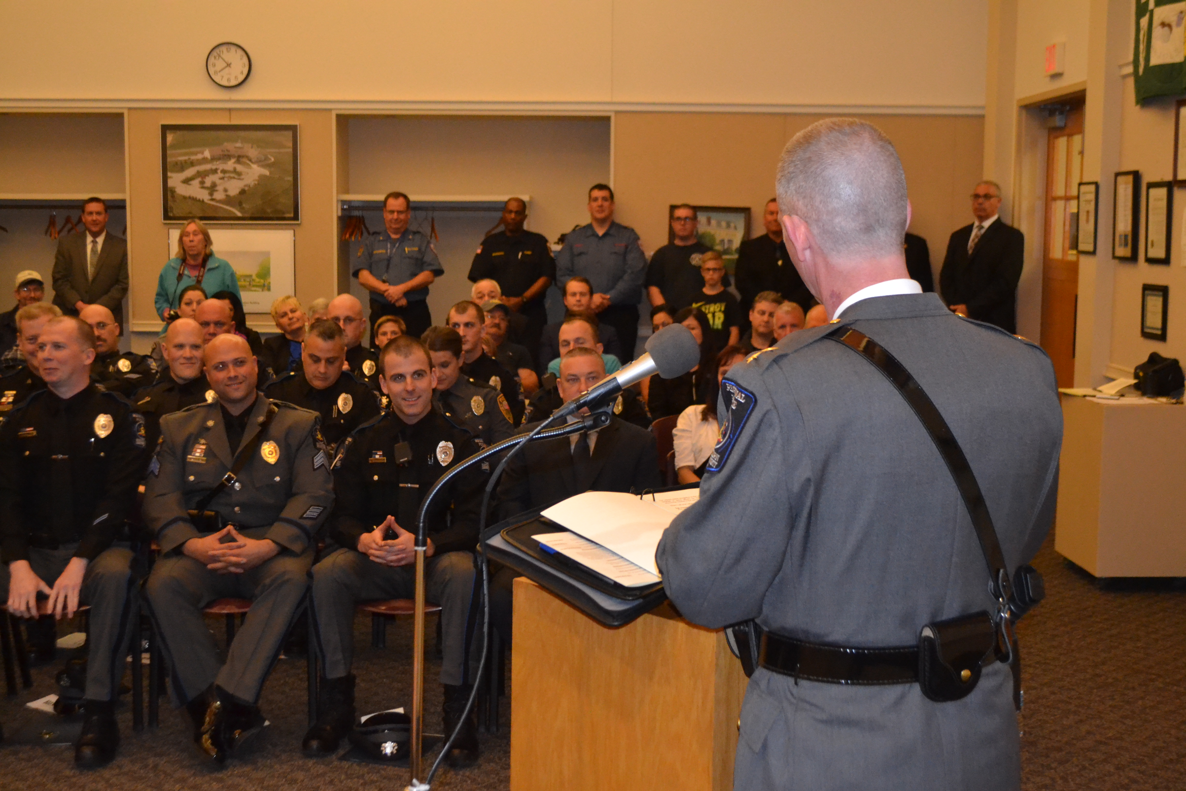 Police officers honored in New Garden ceremony | Chester County Press