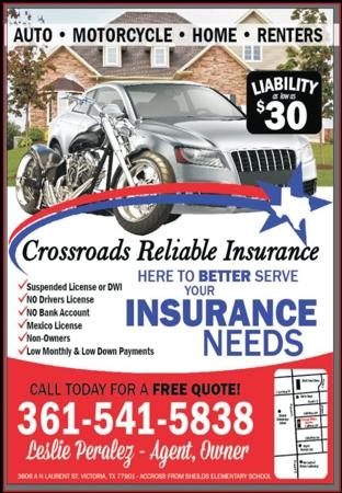 Crossroads 20reliable 20insurance 20  20vc 20  20june july 202017