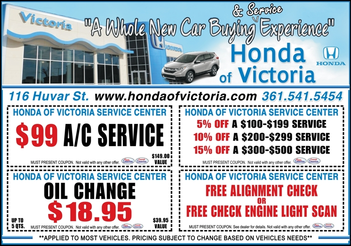 Honda 20of 20victoria 20serivce 20center 20  20vc 20  20aug sept 202017