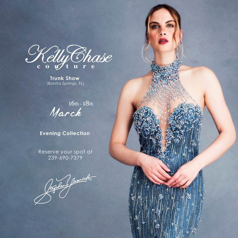 bb65ee4ac3fca Kelly Chase Couture Hosts Stephen Yearick Trunk Show