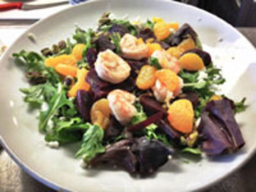 Mandarin Salad at Black Bean Co.