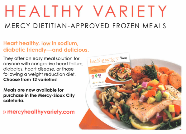 Mercy Launches Healthy Variety Frozen Meals Med Magazine