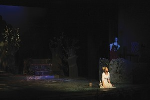 Lena Barker as Cinderella in Steamboat Springs High School