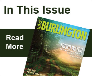 Best of Burlington - Spring 2014