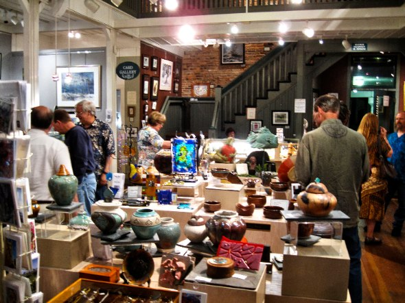 Third Saturday Art Walk - Photo by Bill Robinson