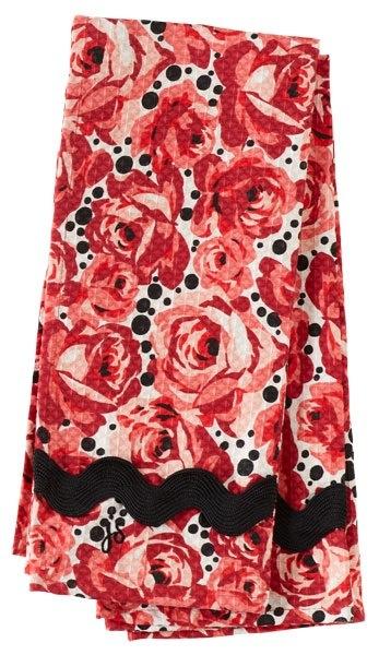 Jessie Steele Deco Rose WAffle Towel Set