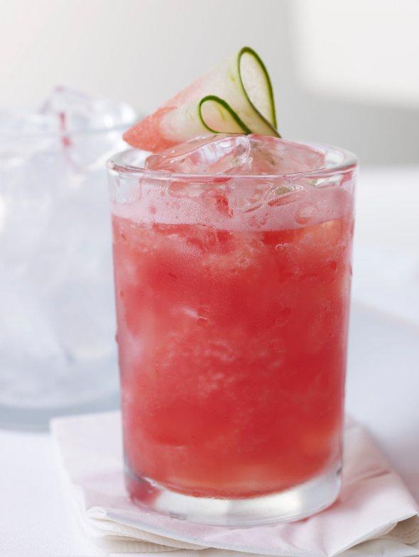 Watermelon-Tequila Agua Fresca