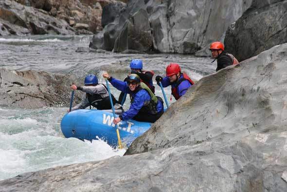 Whitewater rafting - Auburn State Rec Area