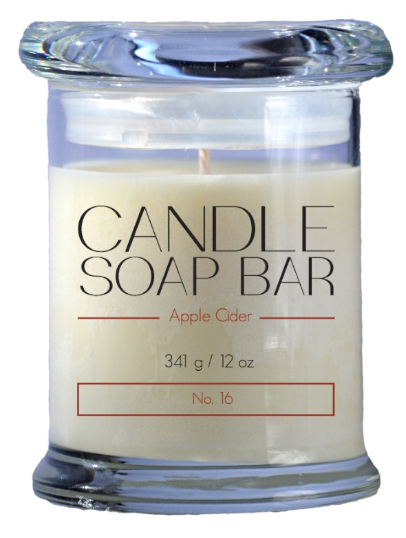 Candle Soap Bar