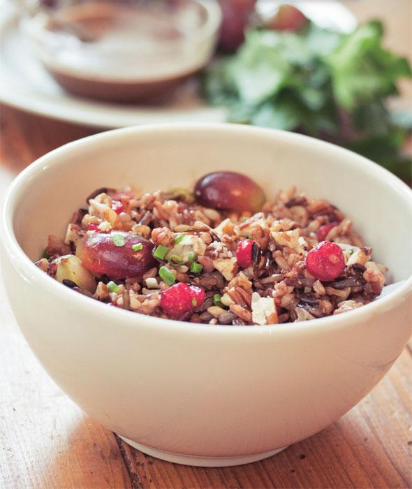 Karma Chow Wild Rice Salad