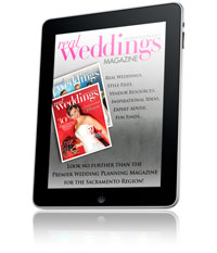 Real Weddings Magazine - iPad App - Tap Here