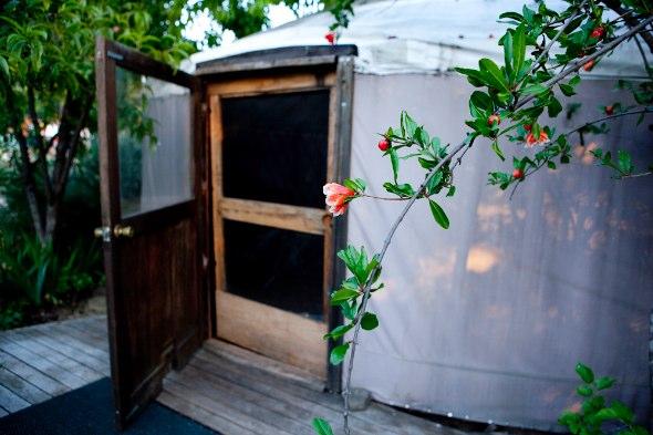 Yurt at the Ojai Foundation