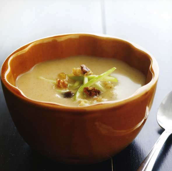 Spiced Apple Pie Soup