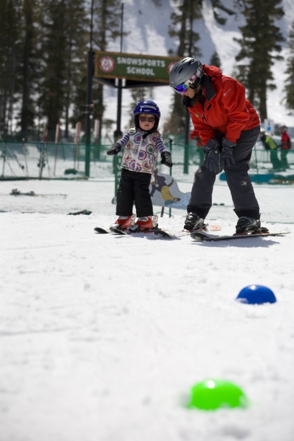 Snowboarding lessons at Alpine Meadows