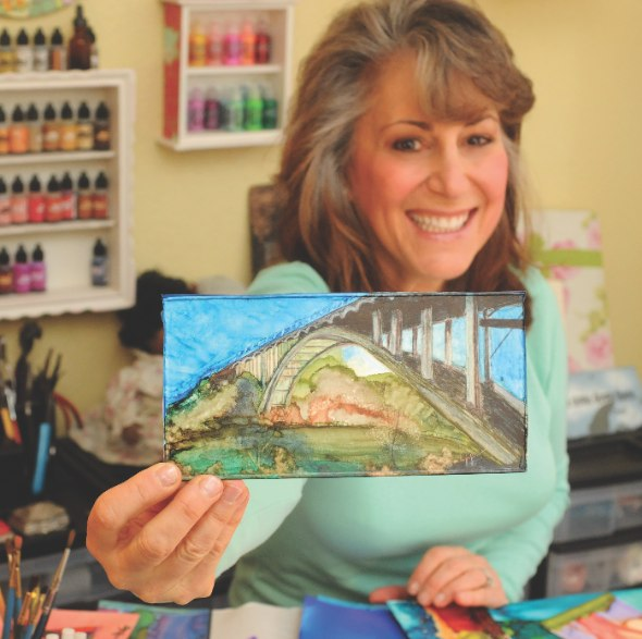 Artist Joyce Auteri