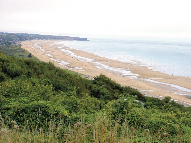 Omaha Beach  Photo by Dr Terry Baker