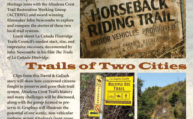 """""""Trails of Two Cities"""" June 19, 2014 