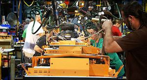 SCAG Made in the USA Assembly Line