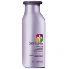 pureology hydrating shampoo, $27 at elements hair salon
