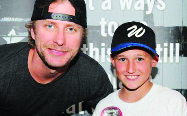 On June 30 2012 Daniel Applegate got to meet Dierks Bentley