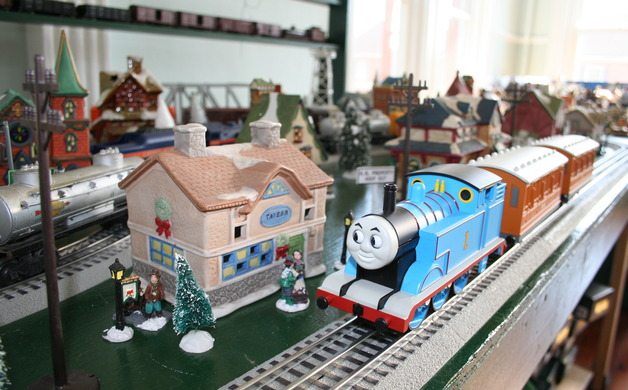 Mayor Joe Malones Thomas the Tank Engine is a layout that will be on display at Old City Hall in December Staff photo by Lexie Yearly