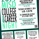 MISD College  Career Night