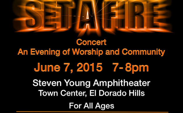 fcaf715c53c4e7 Set a Fire community concert is set for Sunday, June 7, from 7-8 p.m at El  Dorado Hills Town Center Steven Young Amphitheater. Enjoy live music in a  family ...