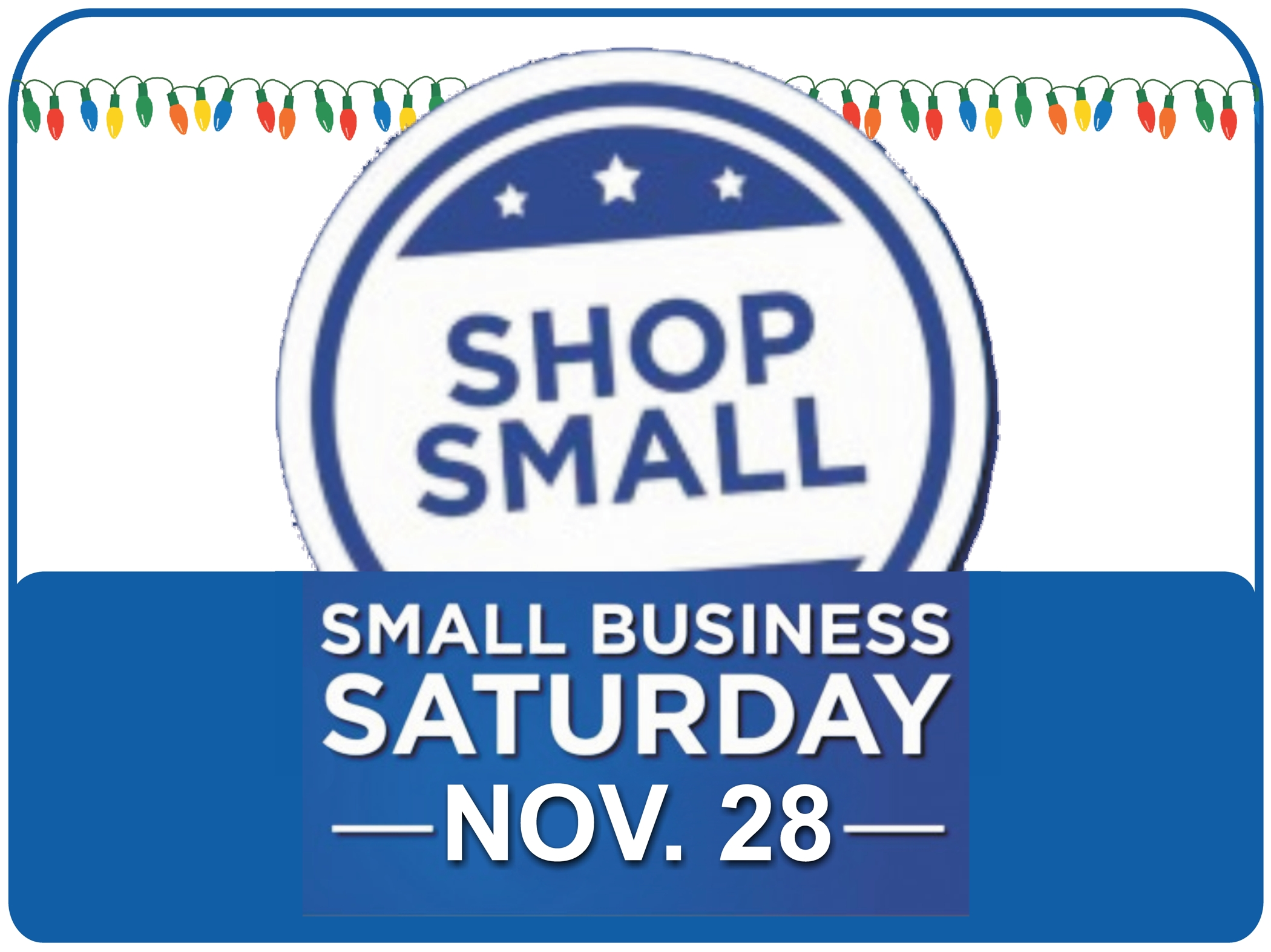 Small Business Saturday 2020.Small Business Saturday Shop Small Local Businesses In