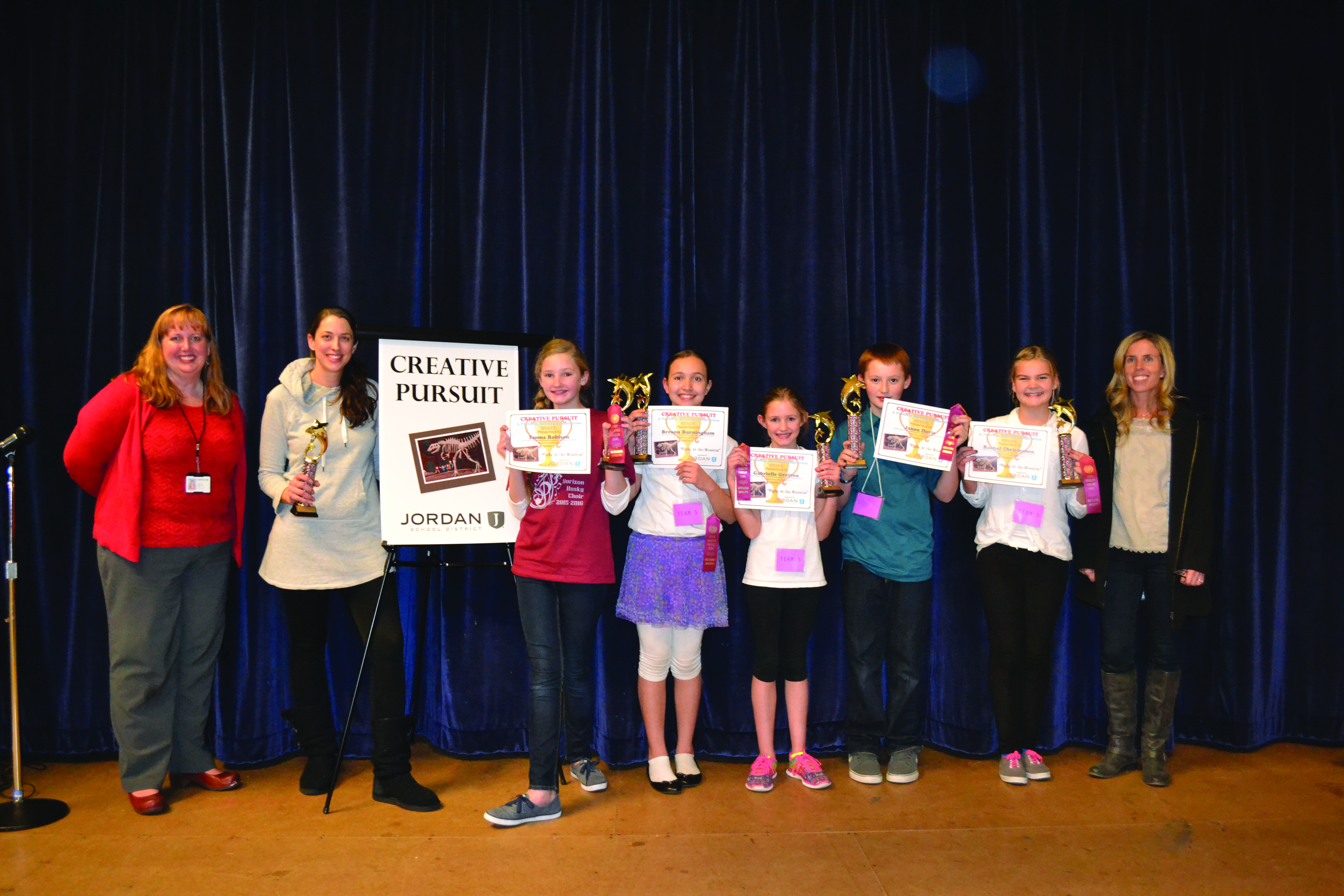 size 40 e3a7b e342f Horizon Students Earn State Title in Creative Pursuits ...