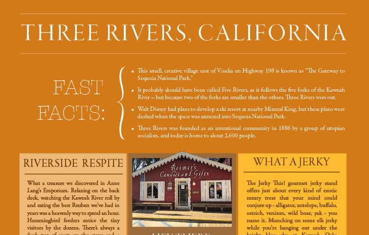 THREE RIVERS, CALIFORNIA | Enjoy South Valley Living