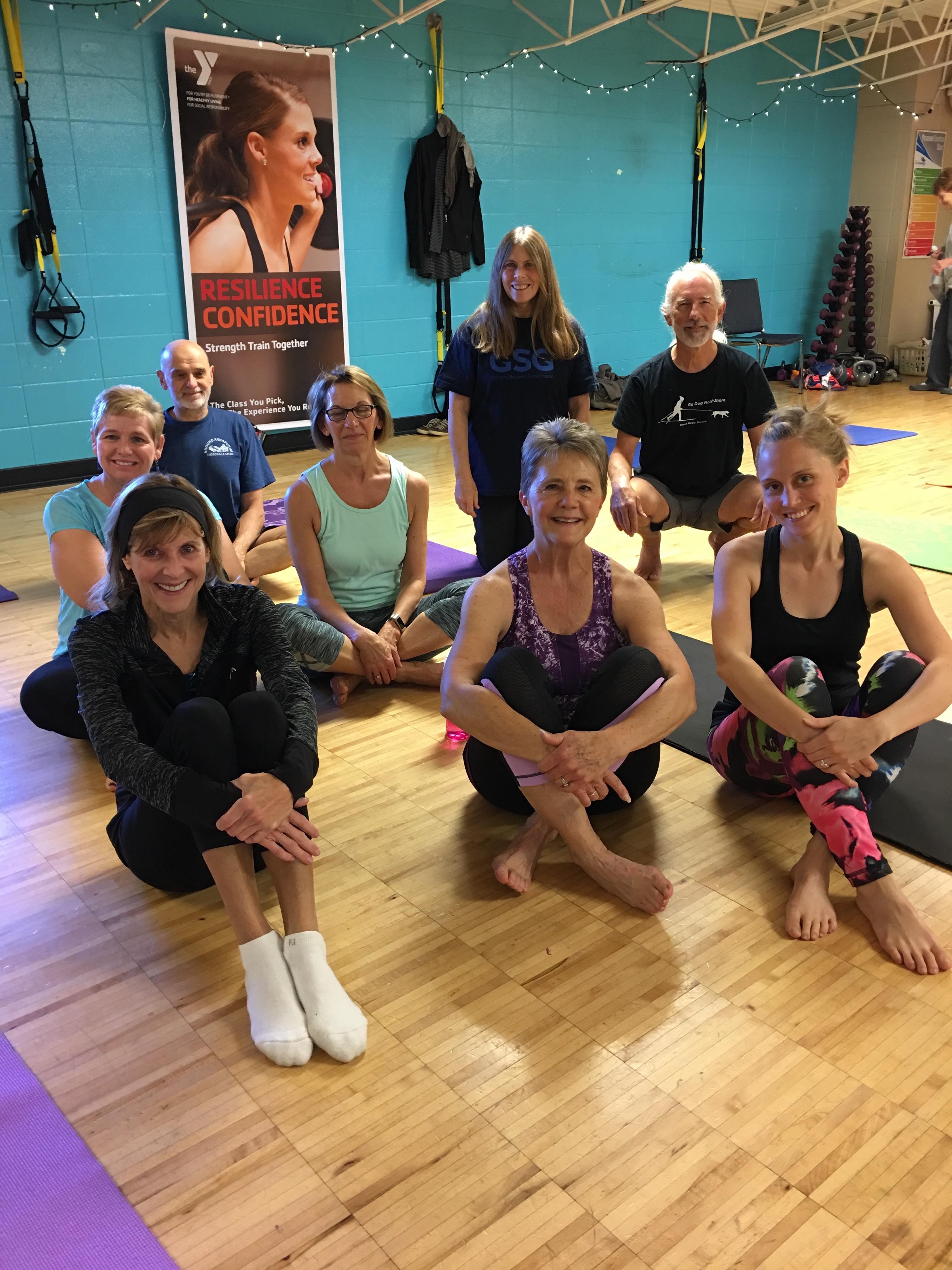 YMCA Yoga Classes