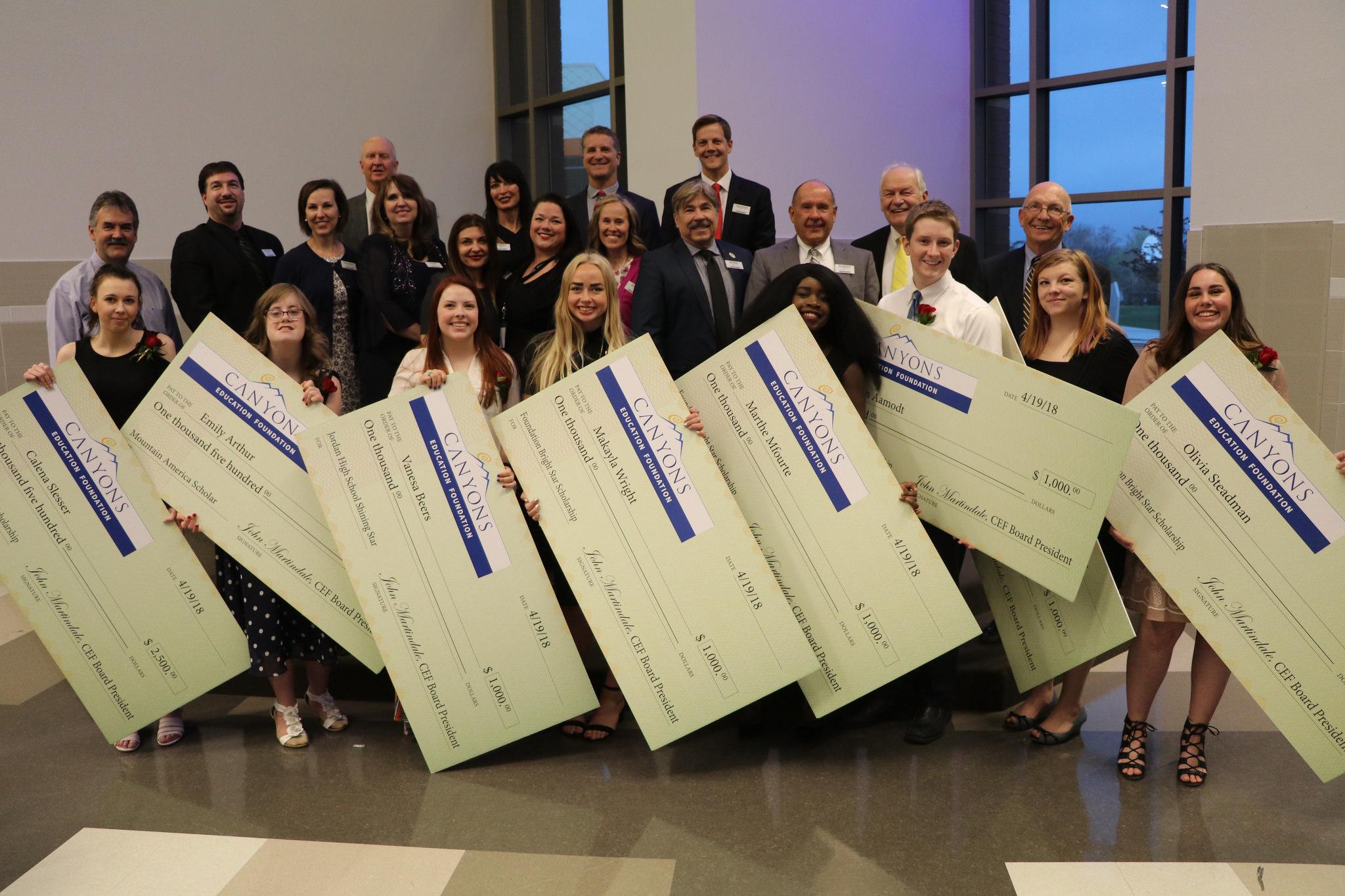 Local graduates awarded foundation college scholarships