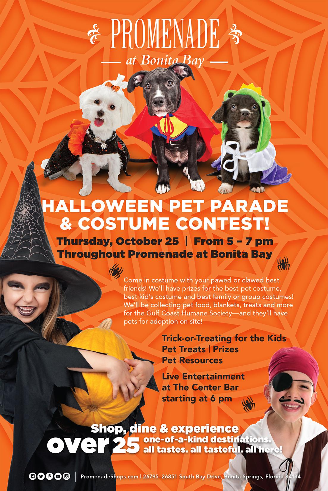 Promenade Pet Parade & Costume Contest