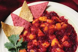 Cranberry-Mango Salsa