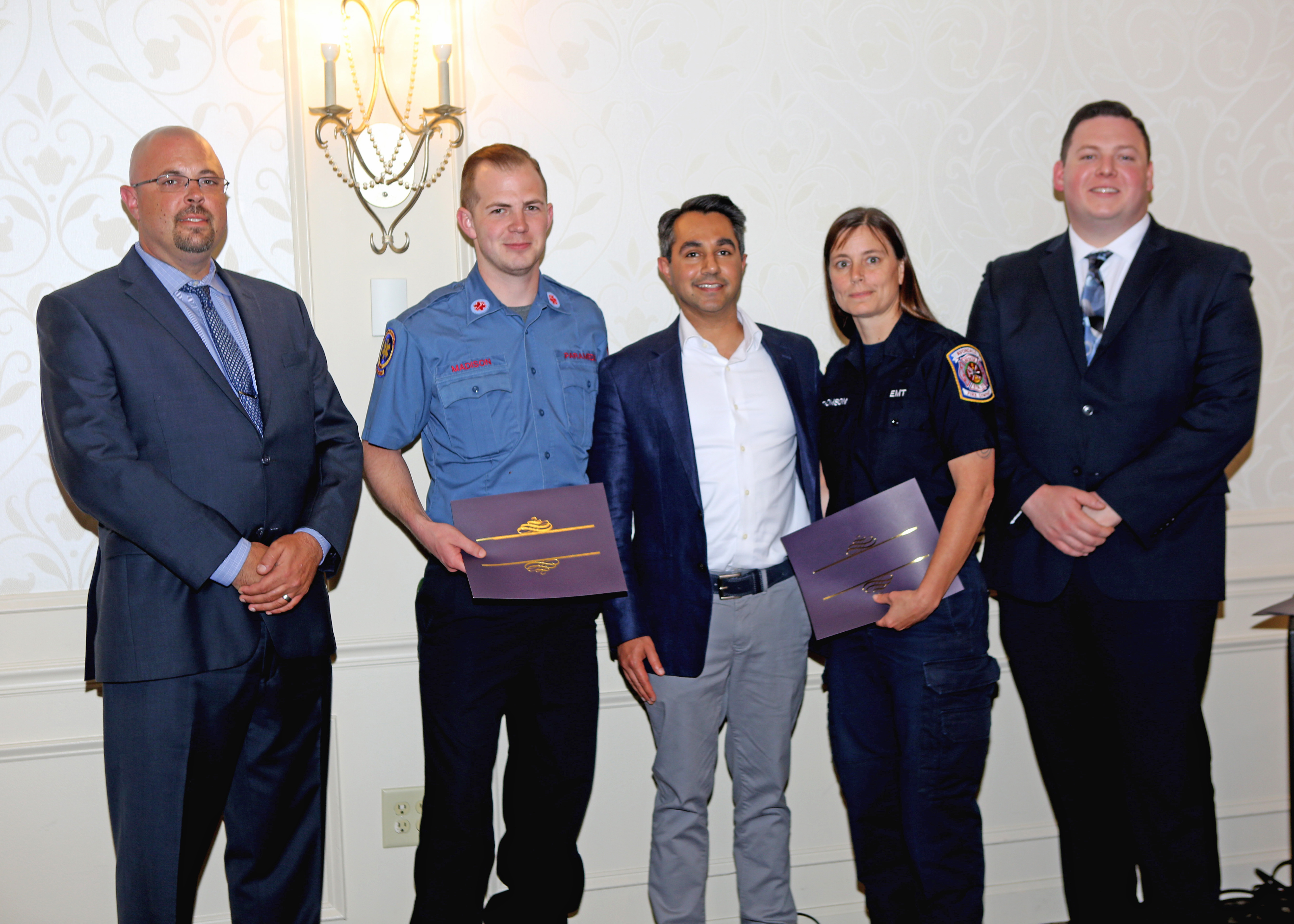 Heroes honored at EMS banquet | Chester County Press