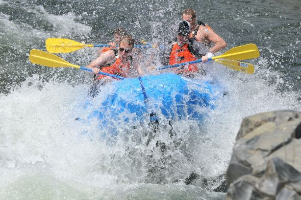 Whitewater Rafting in the American River