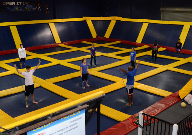 AIRobics Enduance at Sky High Sports in Rancho Cordova, CA