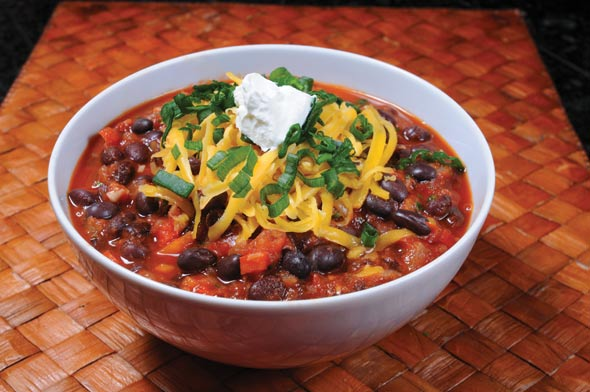 Easy Black Bean Chili