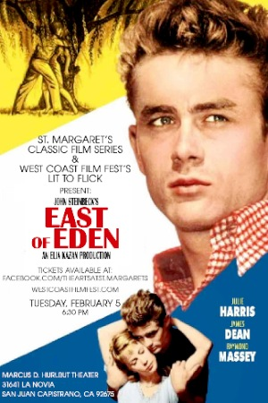 East of Eden with James Dean and Julie Harris
