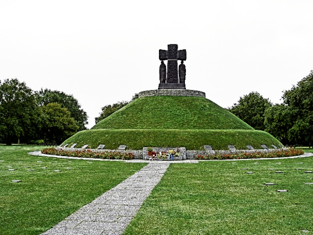 La Cambe German Cemetery  Photo by Dr Terry Baker
