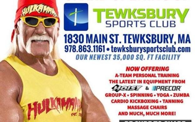 Wrestling Legend Hulk Hogan To Invade Tewksbury For Gym S