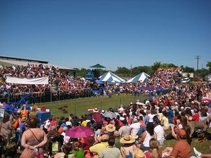 Wiener Dog Races in Buda TX Photo courtesy Creative Commons - Liveon001